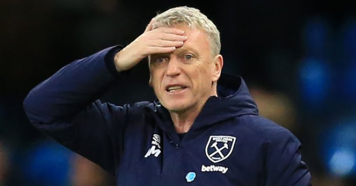 Moyes explains why West Ham had to stray from the plan against Man City