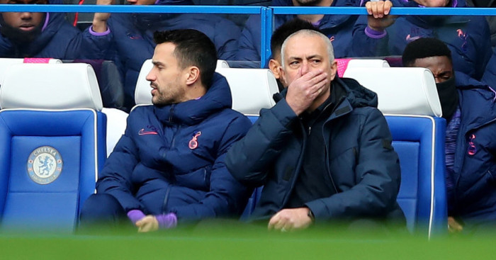Mourinho makes bizarre claims about Tottenham display after Chelsea loss - team talk