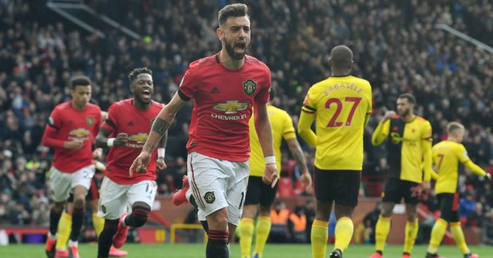 Stunning display gets Fernandes up and running as Man Utd down Watford - team talk