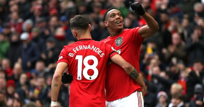 Fernandes aims goal jibe at Martial after missing out on second assist - team talk