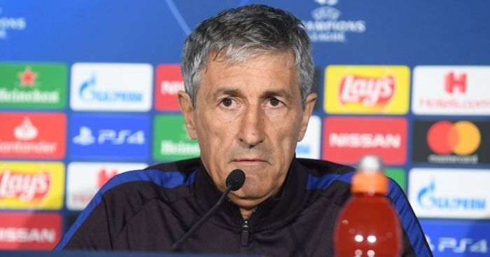Quique Setien TEAMtalk