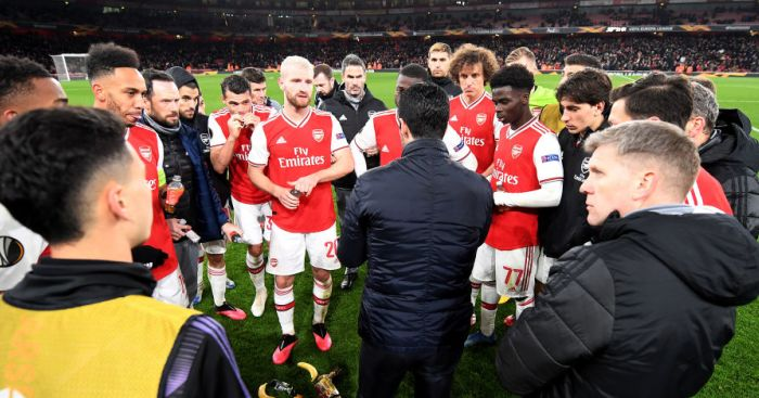 Arteta Arsenal TEAMtalk