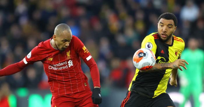 Fabinho Troy Deeney TEAMtalk - Klopp urged to drop Liverpool man; potential Man Utd partnership vetoed
