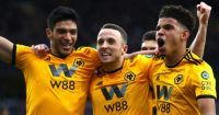 Raul Jimenez, Diogo Jota, Morgan Gibbs-White Wolves celeb TEAMtalk