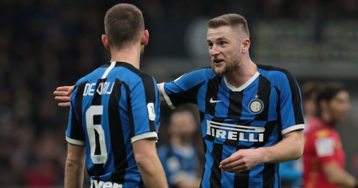 Skriniar Inter TEAMtalk