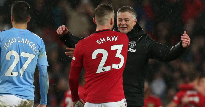 Luke Shaw TEAMtalk