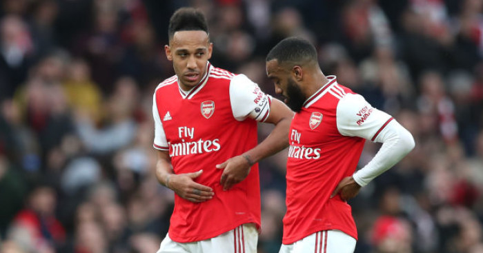 Pierre Emerick Aubameyang, Alexandre Lacazette Arsenal TEAMtalk