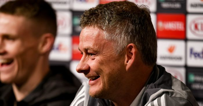 Solskjaer hits back at Neville's cheeky 'competition winner' comment - team talk