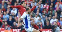 Virgil van Dijk Liverpool Glenn Murray Brighton