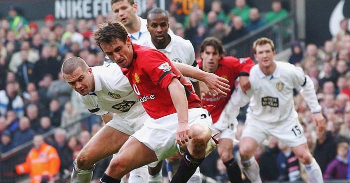 Gary Neville Manchester United Leeds United