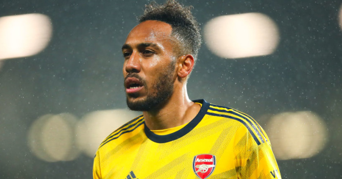 Pierre-Emerick Aubameyang Arsenal TEAMtalk