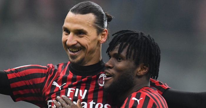 Franck.Kessie.Zlatan.Ibrahimovic.AC .Milan .TEAMtalk - Euro Paper Talk: Big guns talking to Arsenal wonderkid; Leeds move collapses; Spurs chase Chile int'l