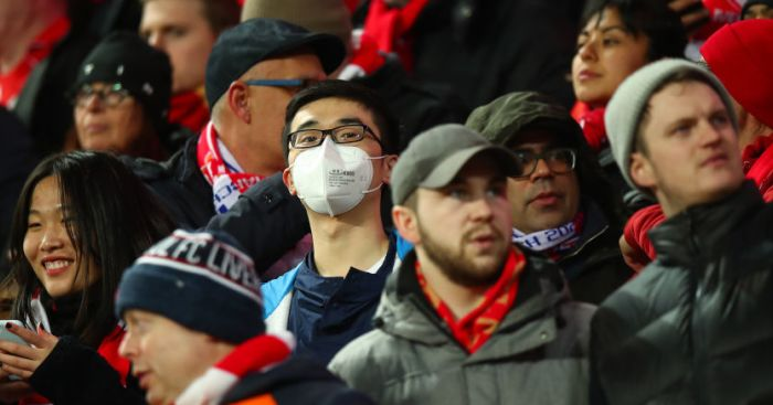 Liverpool fans mask TEAMtalk