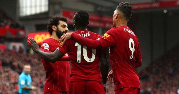 Mohamed Salah, Sadio Mane, Roberto Firmino Liverpool TEAMtalk