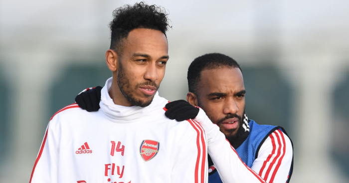 Lacazette Aubameyang Arsenal TEAMtalk