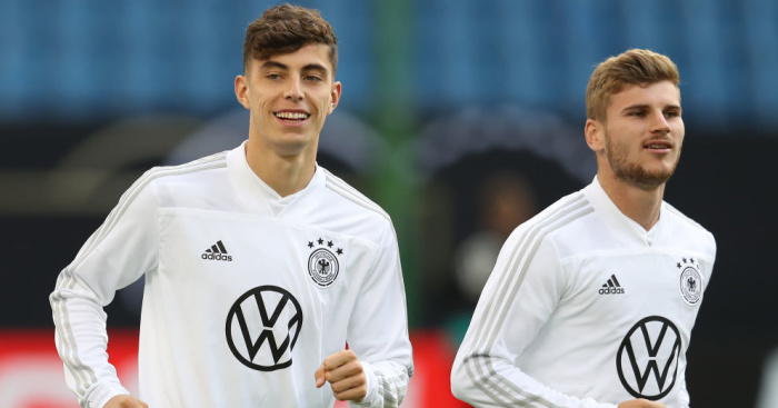 Kai Havertz, Timo Werner