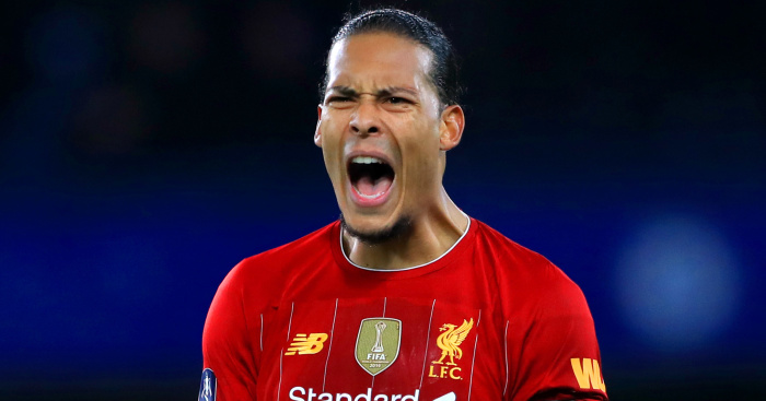 Virgil van Dijk TEAMtalk