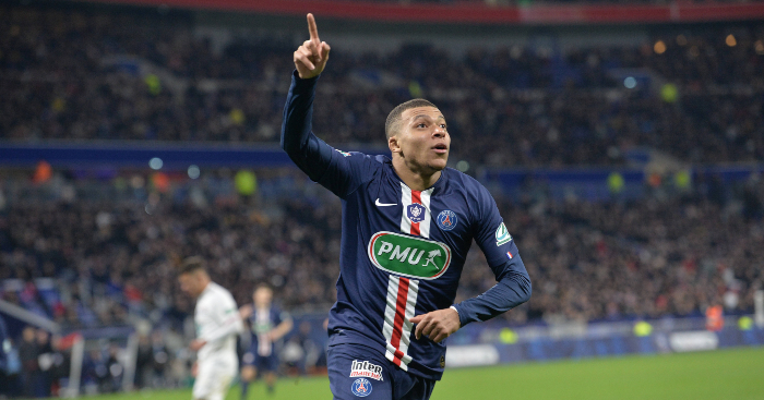 Mbappe PSG TEAMtalk