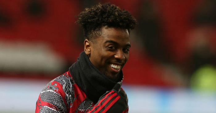 Angel Gomes Manchester United TEAMtalk