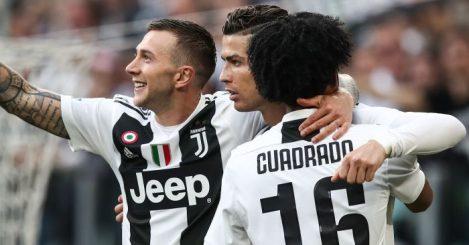 Bernardeschi, Ronaldo, Cuadrado