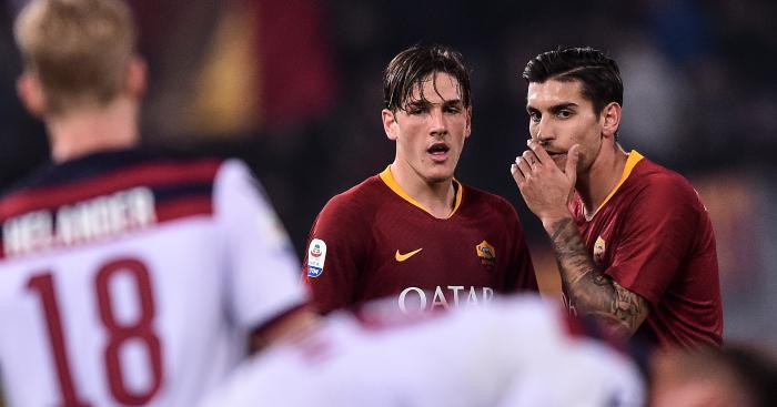 Nicolo Zaniolo Lorenzo Pellegrini Roma - Paper Talk: Arteta close to £48m double swoop; Man Utd target speedy Monaco defender