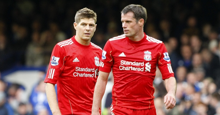 Steven Gerrard Jamie Carragher Liverpool - Predictions: Man Utd to suffer at Brighton; big Chelsea win; Liverpool to overwhelm Arsenal