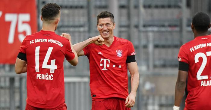 Robert Lewandowski Bayern Munich 1 - CL group stage draw: Man Utd draw PSG, Liverpool avoid big boys