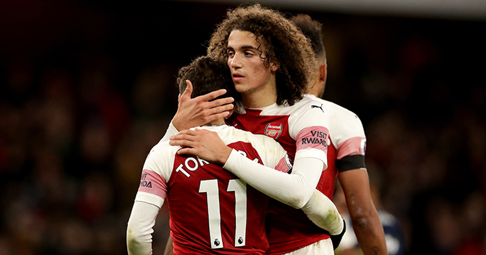 Matteo Guendouzi Lucas Torreira Arsenal - French star makes Arsenal feelings clear, with £36m-plus bid 'imminent'