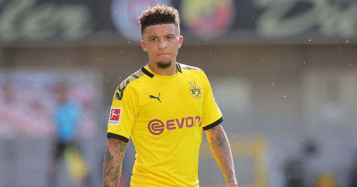 Jadon Sancho hit with fine after breaching rules with home haircut - team talk