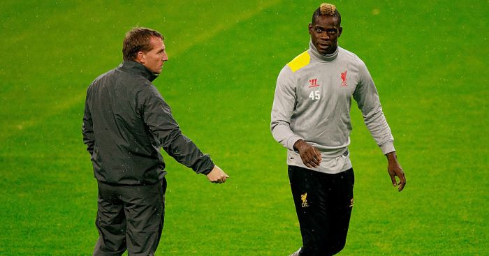 Rodgers explains why Balotelli was 'unfortunate' at Liverpool - team talk