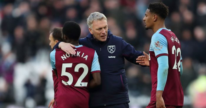 David Moyes, Jeremy Ngakia, Sebastian Haller West Ham TEAMtalk