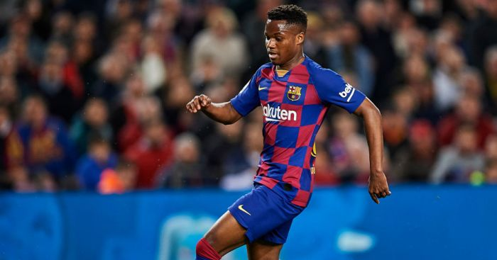fati 1 - Barcelona star gets new €400m release clause to end Man Utd hopes