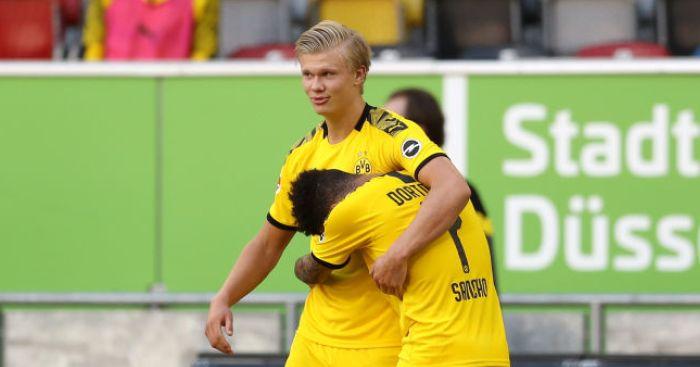 Erling Haaland Jadon Sancho - Erling Haaland offers hope when asked about future Premier League transfer