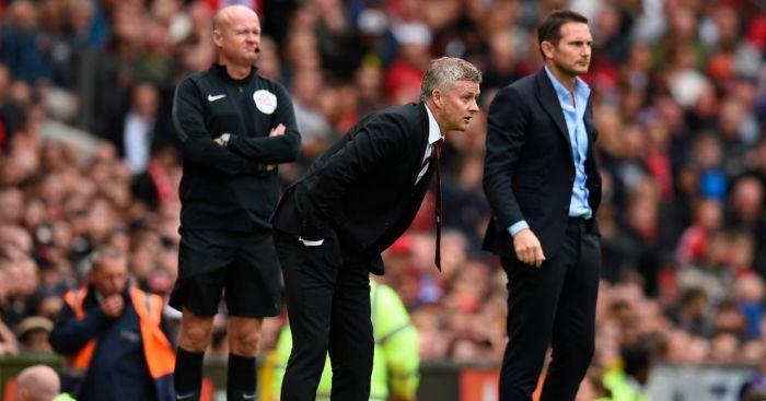 Ole Gunnar Solskjaer Manchester United, Frank Lampard Chelsea TEAMtalk