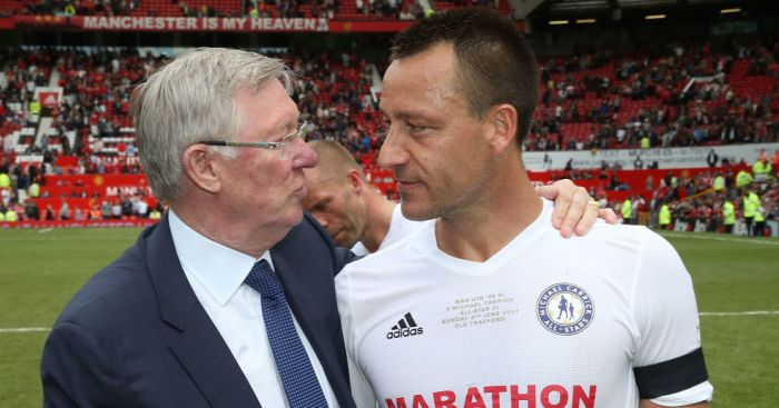 Alex Ferguson; John Terry TEAMtalk