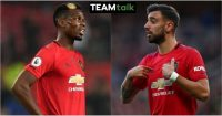 Paul Pogba, Bruno Fernandes TEAMtalk