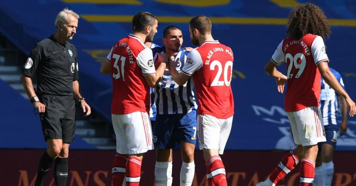 Arsenal Brighton TEAMtalk