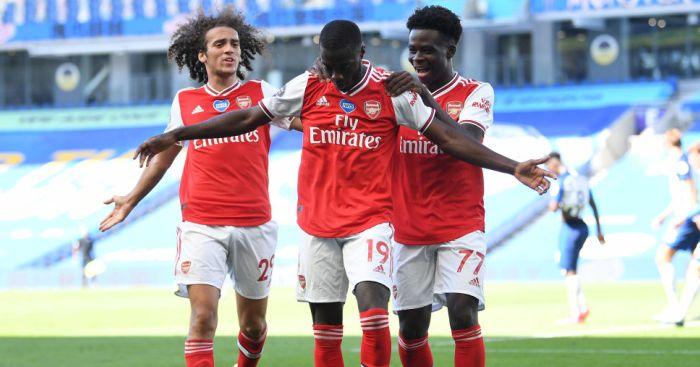 Nicolas Pepe Arsenal TEAMtalk