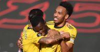 Eddie Nketiah, Pierre-Emerick Aubameyang-Arsenal-celeb TEAMtalk