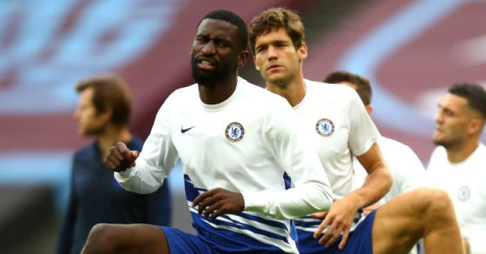 Antonio Rudiger; Marcos Alonso TEAMtalk