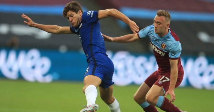 Marcos Alonso, Jarrod Bowen West Ham Chelsea TEAMtalk