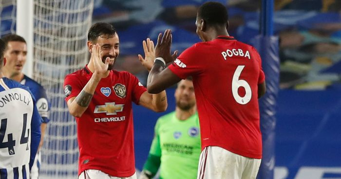 Huge double blow for Man Utd after freak Pogba, Fernandes training clash - team talk