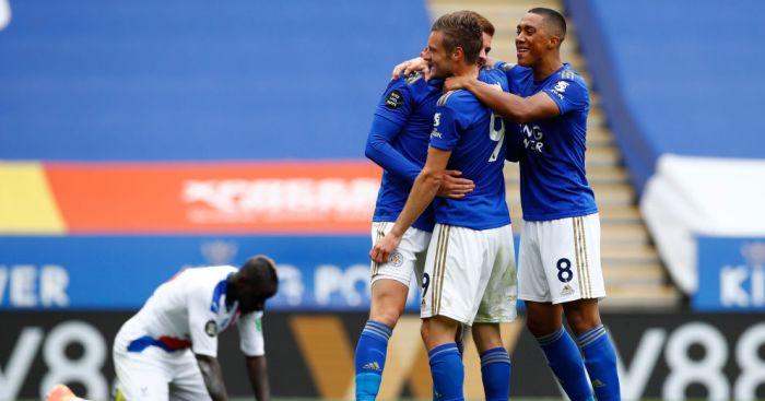 Jamie Vardy, Youri Tielemans Leicester TEAMtalk
