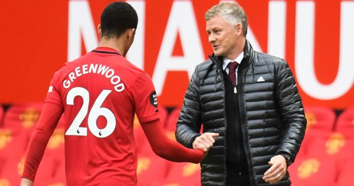 Solskjaer delivers brutal truth over what Mason Greenwood lacks to be Man Utd No 9 - team talk