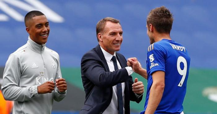 Rodgers explains why 'unique' Vardy is an inspiration for Leicester - team talk