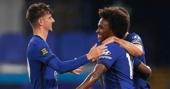 Chelsea end week in top four as Willian scores third penalty in a row - team talk