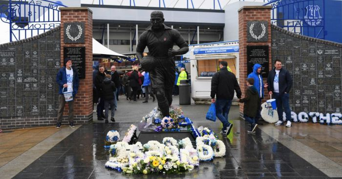 Dixie Dean statue TEAMtalk