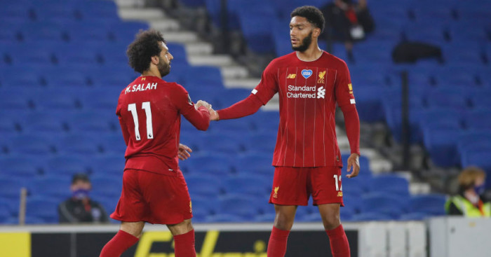 Mohamed Salah, Joe Gomez Liverpool TEAMtalk