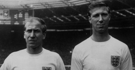 Bobby Charlton and Jack Charlton