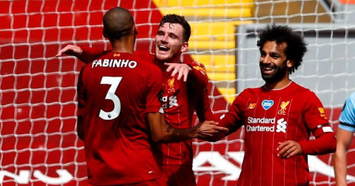 Robertson insists Liverpool still giving 100%; tips duo for big careers | teamtalk.com